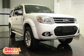 mobil bekas FORD EVEREST 2.5L XLT LIMITED AT, JOK KULIT (KM 6.000)