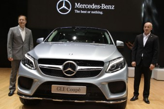 Omega Mobil Mercedes-Benz GLE 400 AMG Coupe