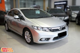 mobil bekas H. ALL  NEW CIVIC 1.8 MT (KM 18.000)