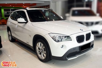 mobil bekas BMW X1 S-DRIVE 2.0 EXECUTIVE ELECTRIC SEAT AT (KM 25.000)