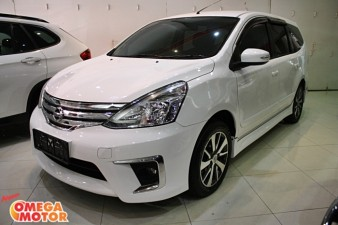 Omega Mobil N. GRAND LIVINA FACELIFT XV  HIGHWAY STAR 1.5 JOK KULIT, SPOILER AT (KM 4.900)