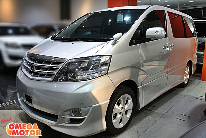 JUAL MOBIL TOYOTA T. ALPHARD ASG 2.4 HOME TEATER AT (KM 82 ...