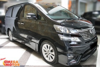 Omega Mobil T. VELLFIRE Z AUDIOLESS 2.4 AT (KM 44.000)