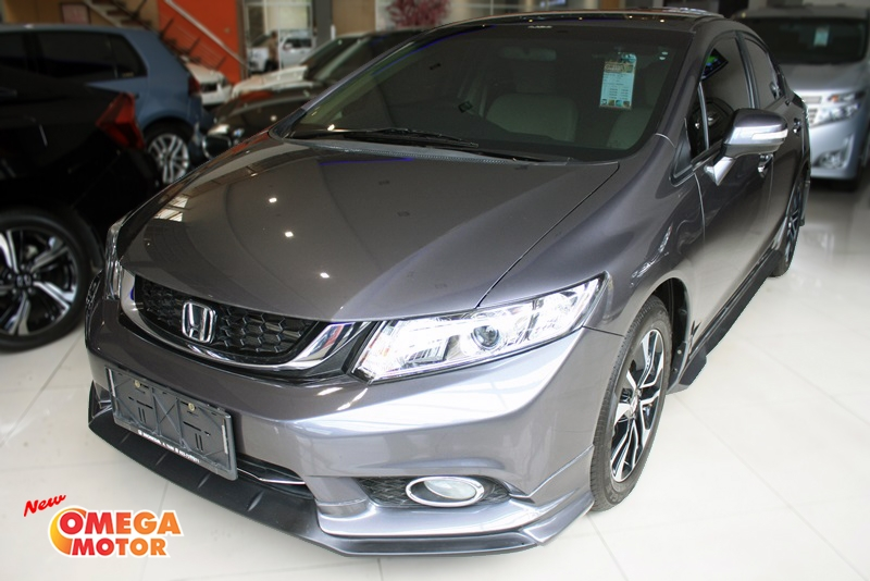 Omega Mobil H. ALL NEW CIVIC 1.8 AT (KM 27.000)