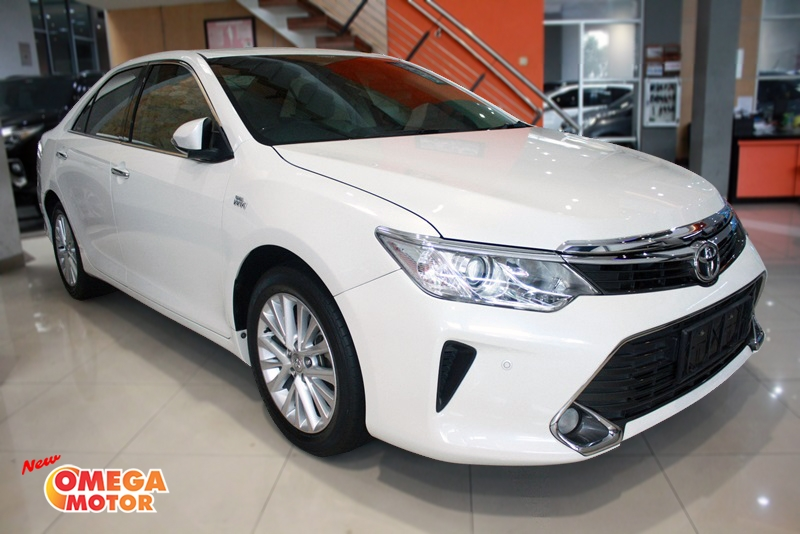 Omega Mobil T. ALL NEW CAMRY V 2.5 FACELIFT AT (KM. 33.517)
