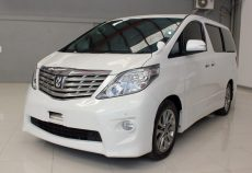 Omega Mobil T. ALPHARD S AUDIOLESS 2.4 AT (KM 57.760)
