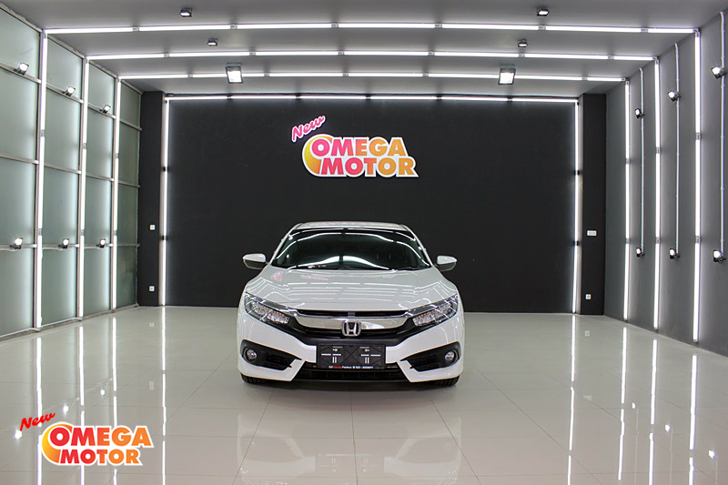 Omega Mobil H. ALL NEW CIVIC TURBO 1.5 CVT ES AT 8 AIRBAGS FULL SPOILER PRESTIGE (KM 13.382)