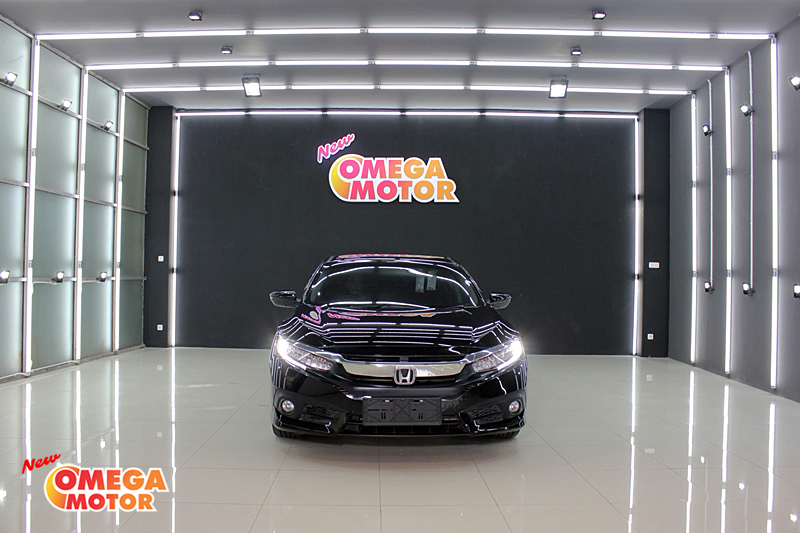 Omega Mobil H. ALL NEW CIVIC TURBO 1.5 CVT ES AT 6 AIRBAGS (KM 15.201)